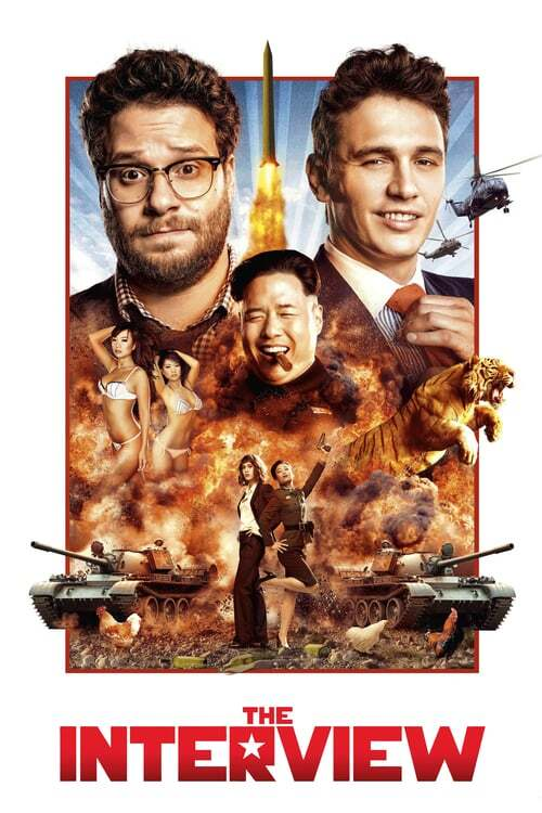 movie cover - The Interview
