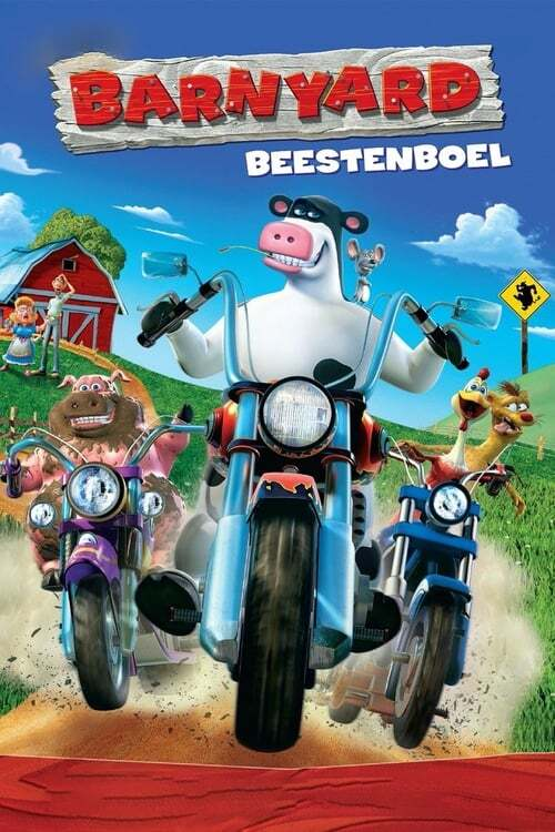 movie cover - Barnyard