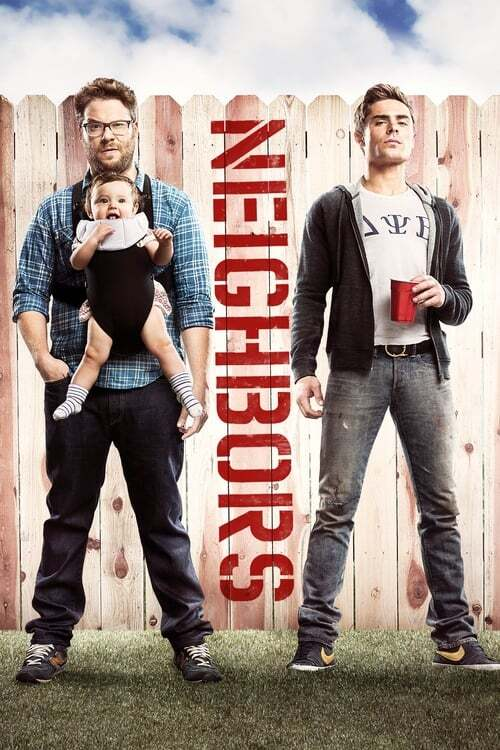 movie cover - Bad Neighbours