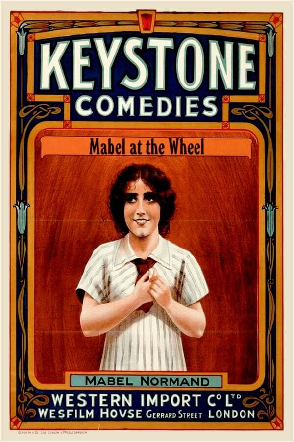 movie cover - Mabel at the Wheel