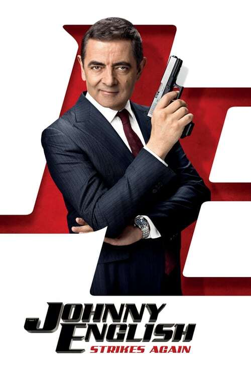 movie cover - Johnny English Strikes Again