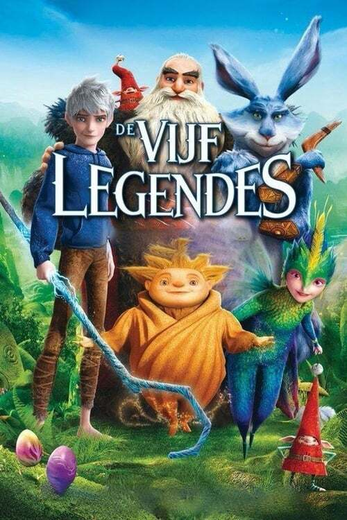 movie cover - De Vijf Legendes