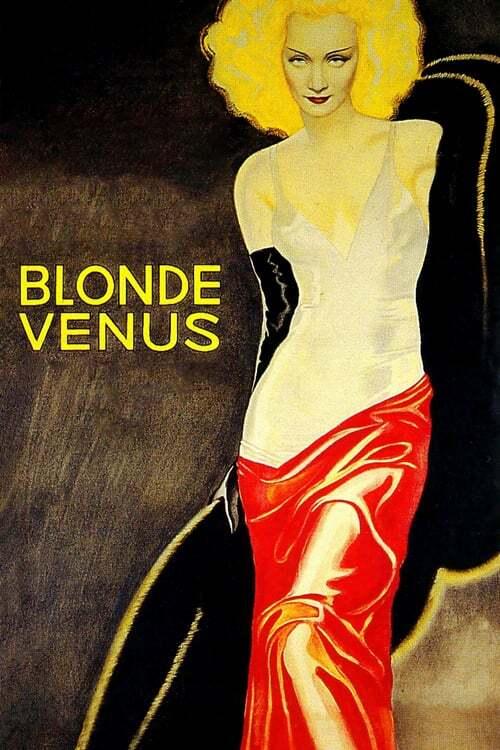 movie cover - Blonde Venus