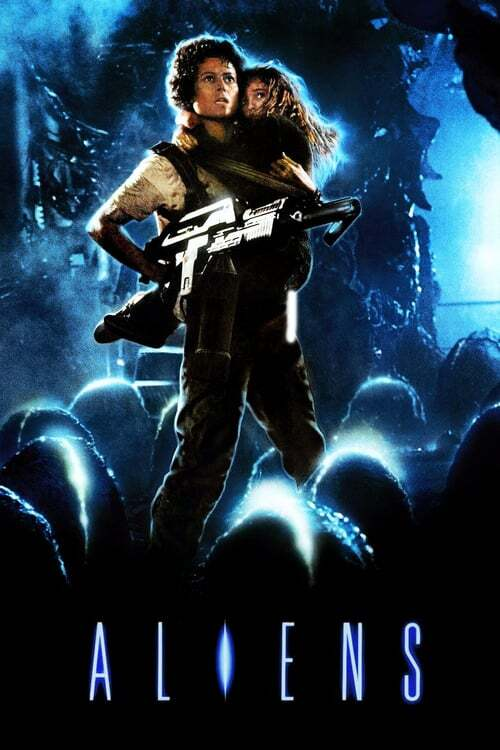 movie cover - Aliens