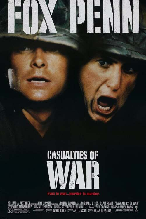 movie cover - Casualties Of War