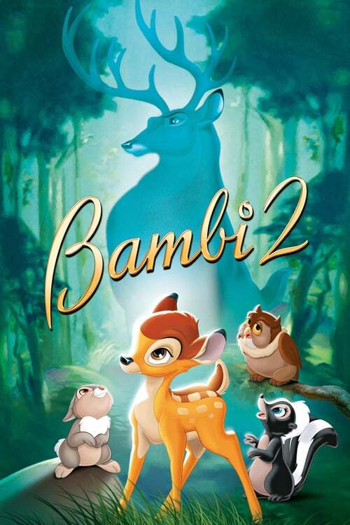 movie cover - Bambi 2