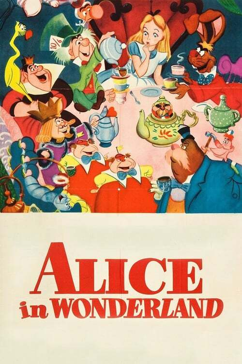 movie cover - Alice In Wonderland