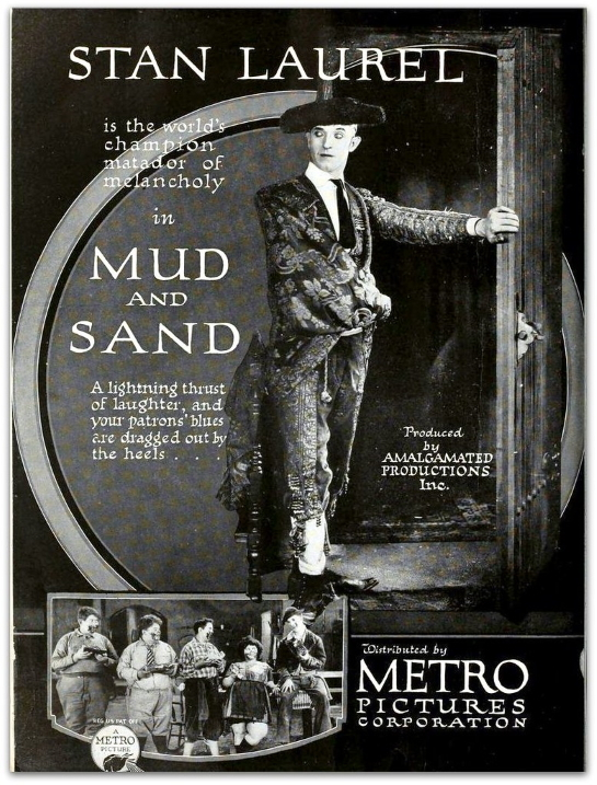 movie cover - Mud and Sand