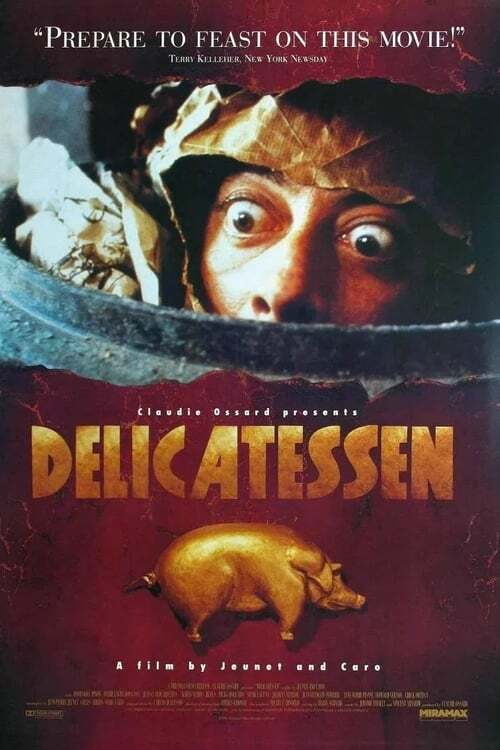 movie cover - Delicatessen