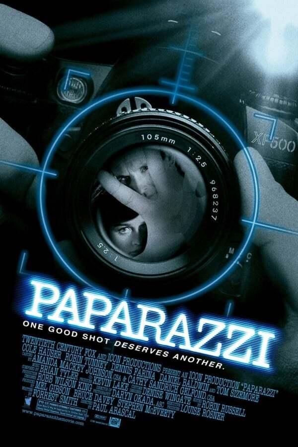 movie cover - Paparazzi