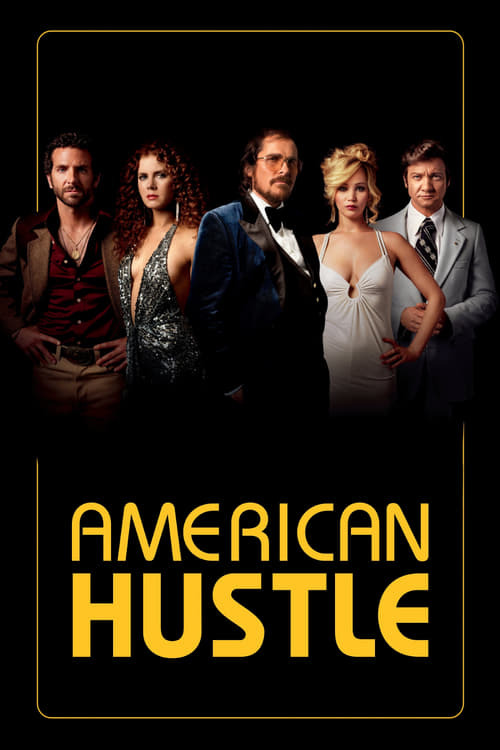 movie cover - American Hustle