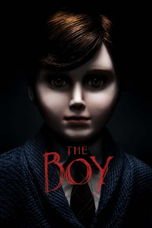 movie cover - The Boy