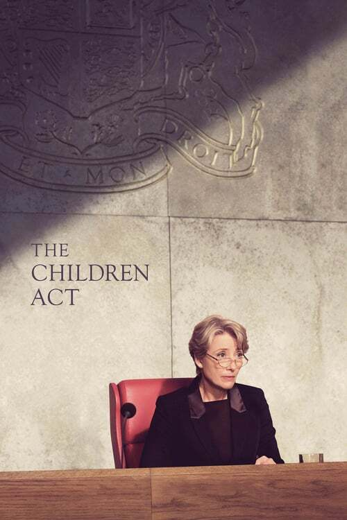 movie cover - The Children Act