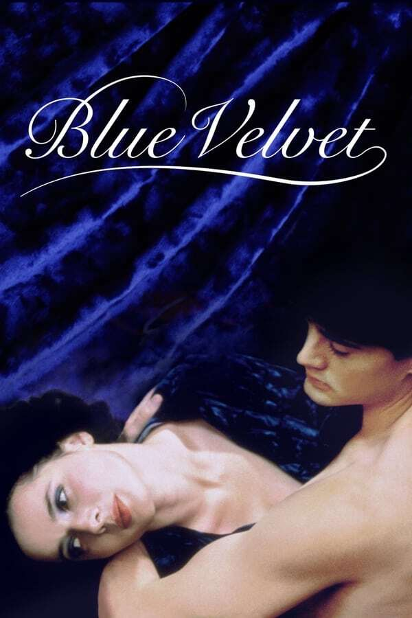 movie cover - Blue Velvet