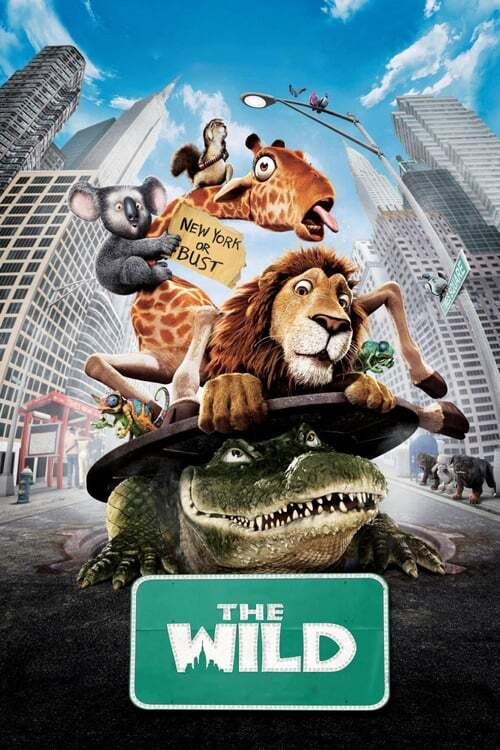 movie cover - The Wild