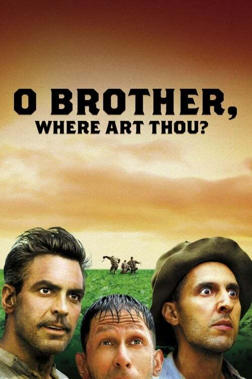 movie cover - O Brother, Where Art Thou?