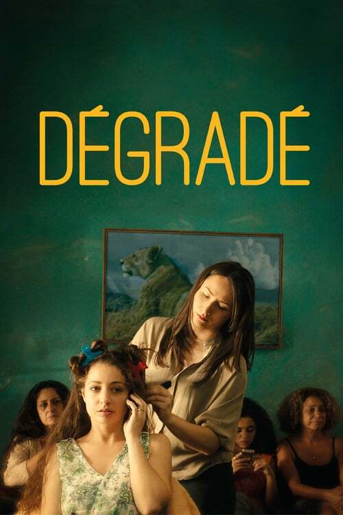 movie cover - Dégradé