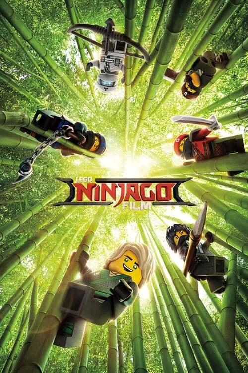 movie cover - De Lego Ninjago Film
