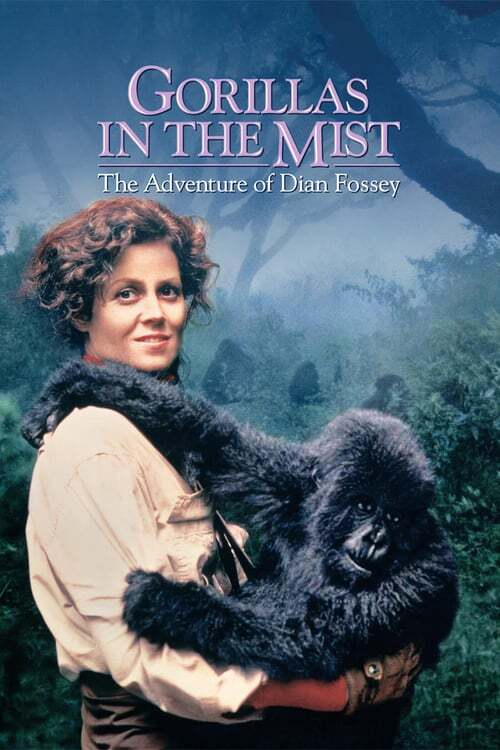 movie cover - Gorillas In The Mist: The Adventure Of Dian Fossey