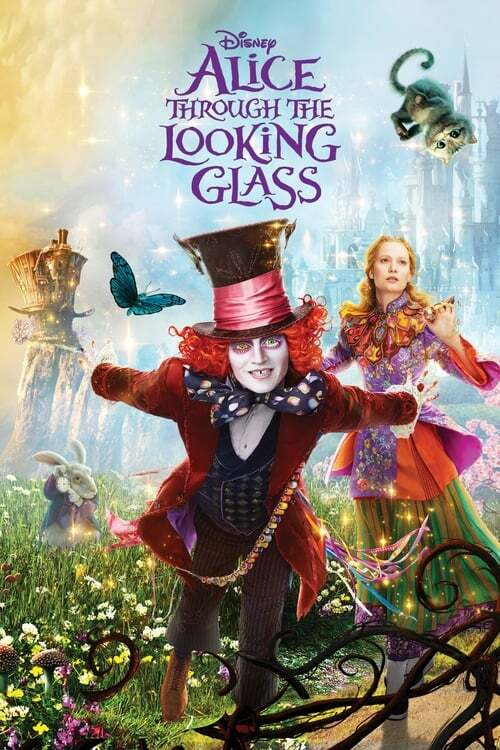 movie cover - Alice Through The Looking Glass