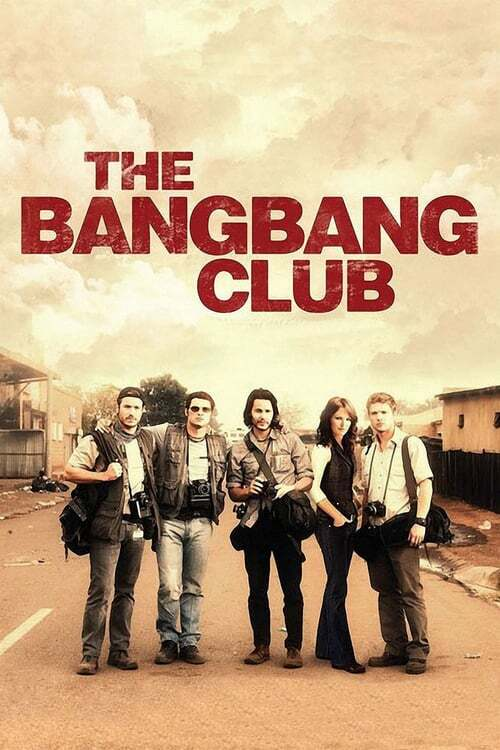 movie cover - The Bang Bang Club