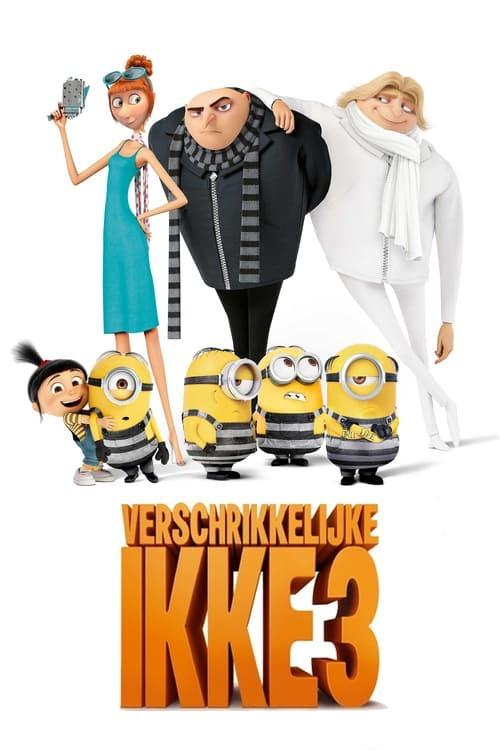 movie cover - Verschrikkelijke Ikke 3