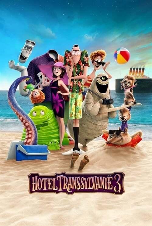 movie cover - Hotel Transsylvanië 3: Een Monsterlijk Leuke Vakantie