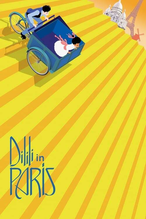 movie cover - Dilili à Paris