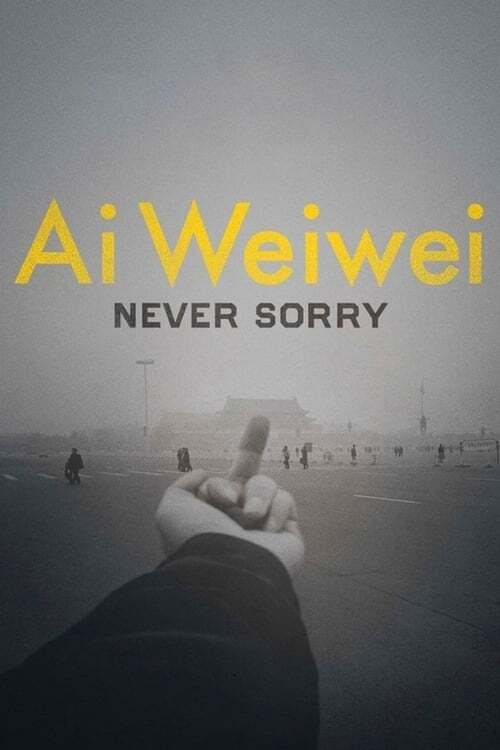 movie cover - Ai Weiwei: Never Sorry