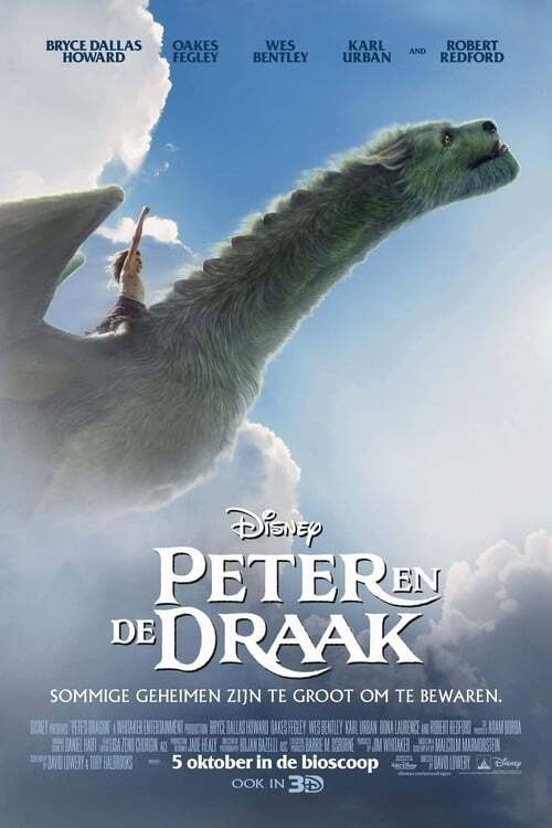 movie cover - Peter en de Draak