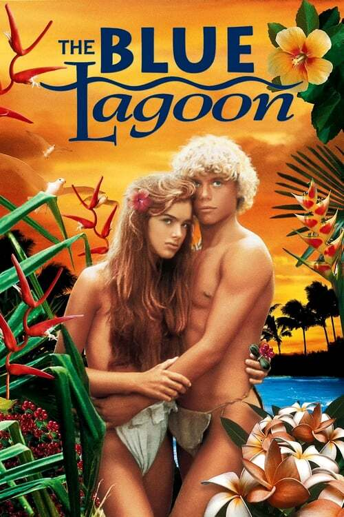 movie cover - The Blue Lagoon