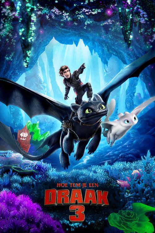 movie cover - Hoe Tem Je Een Draak 3