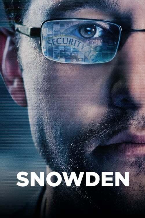 movie cover - Snowden