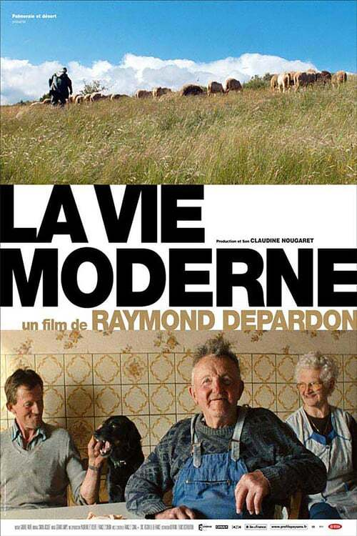 movie cover - La Vie Moderne