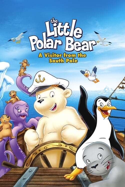 movie cover - De Kleine Ijsbeer - Bezoek Van De Zuidpool