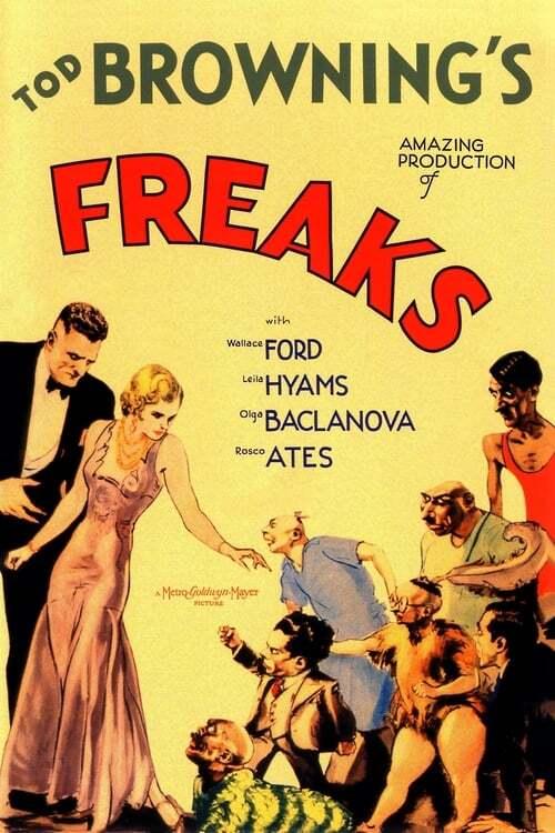 movie cover - Freaks