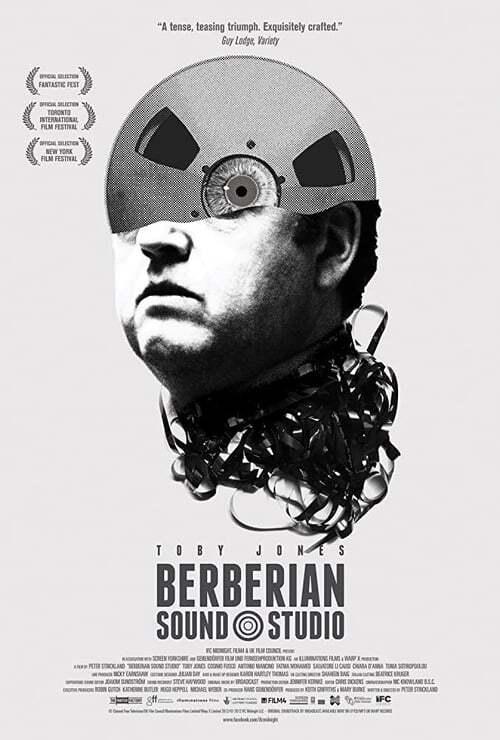 movie cover - Berberian Sound Studio