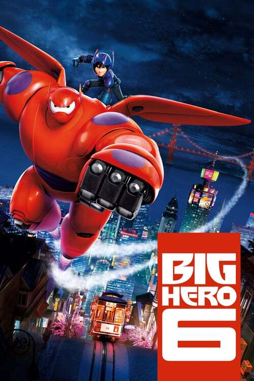 movie cover - Big Hero 6