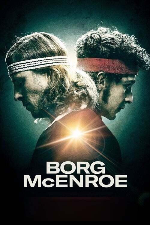 movie cover - Borg Mcenroe