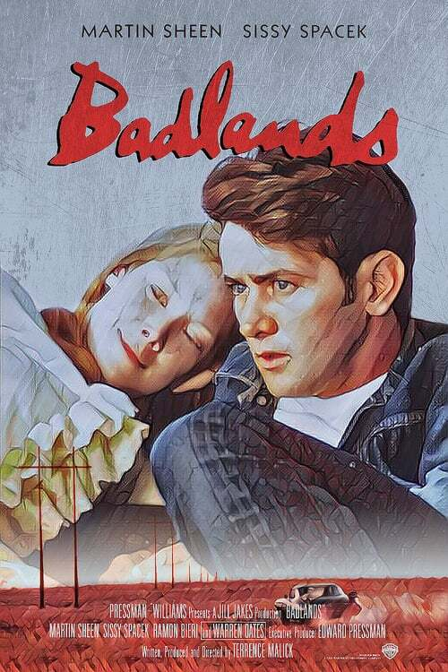 movie cover - Badlands