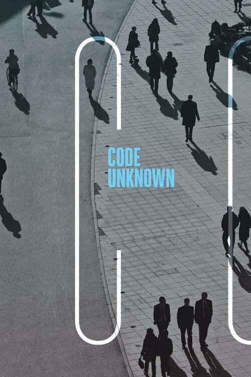 movie cover - Code Inconnu