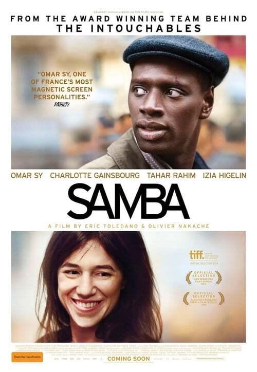 movie cover - Samba
