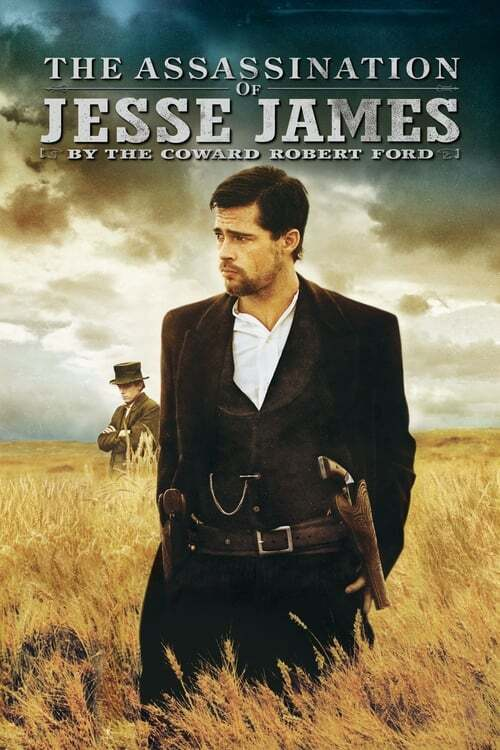 movie cover - The Assassination Of Jesse James By The Coward Robert Ford