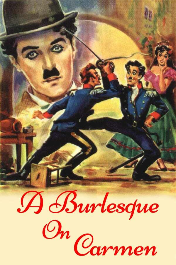 movie cover - A Burlesque on Carmen
