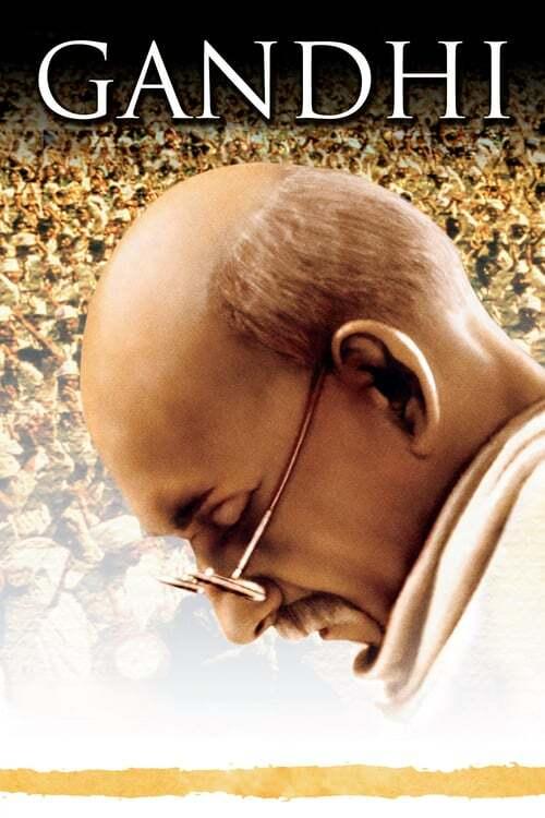 movie cover - Gandhi