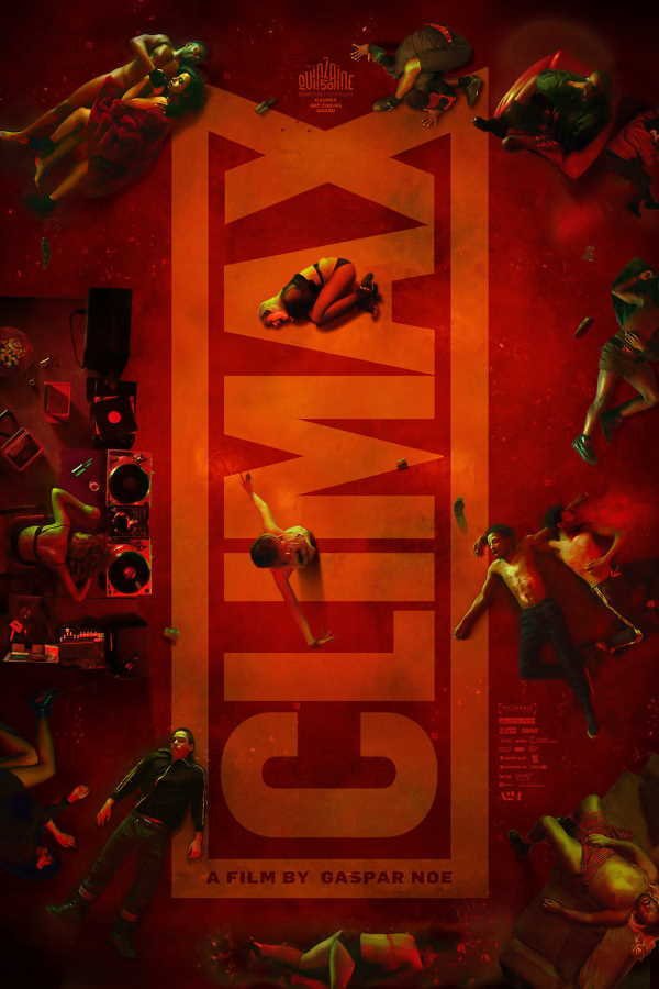 movie cover - Climax