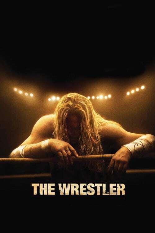 movie cover - The Wrestler