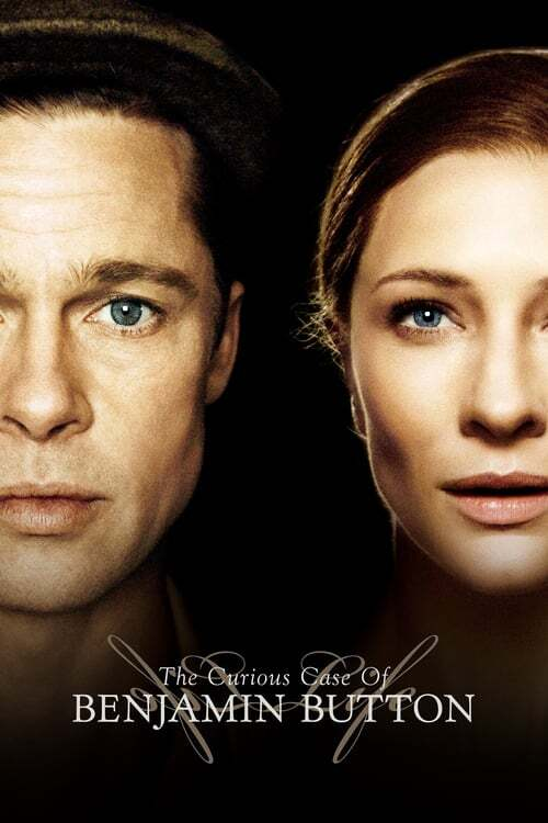 movie cover - The Curious Case Of Benjamin Button