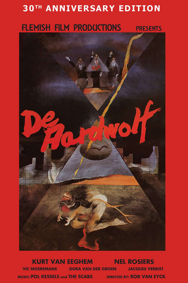 movie cover - De Aardwolf