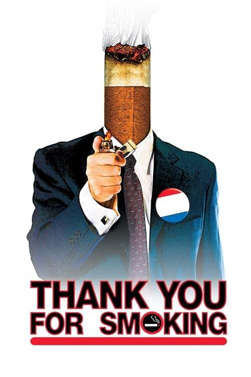 movie cover - Thank You For Smoking